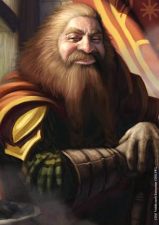 Fantasy Flight - Lord of the Rings Sleeves - Gimli (50 Count)