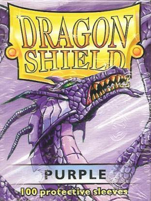 Dragon Shield Box of 100 in Purple