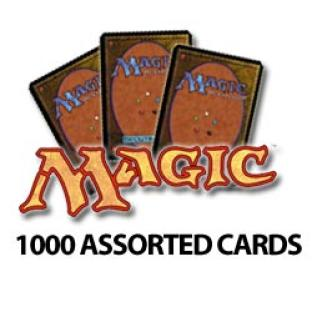 Magic the Gathering - 1000 Assorted Cards - Grab Bag