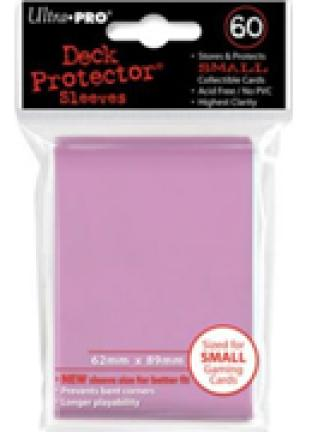 Ultra Pro - 60 ct Sleeves - Pink - Yugioh Sized