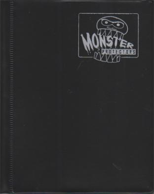 4-Pocket Monster Binder - Matte Black