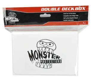 Monster Protectors Double Deck Box - White