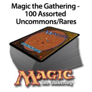 100 Magic the Gathering Rares Uncommons Grab bag