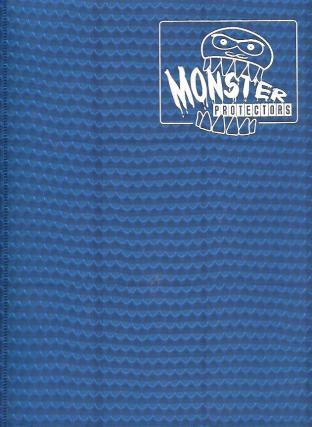 9 Pocket Monster Binder - Blue