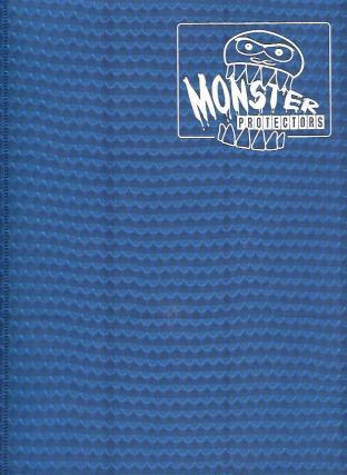 9 Pocket Monster Binder - Blue