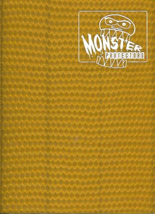 9 Pocket Monster Binder - Gold