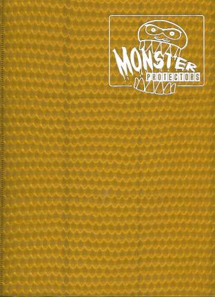9 Pocket Monster Binder - Gold