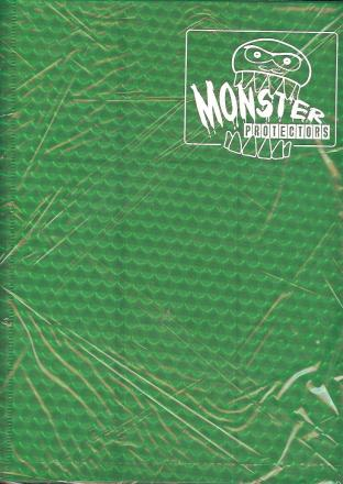9 Pocket Monster Binder - Green