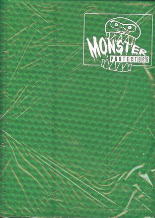 9 Pocket Monster Binder - Green