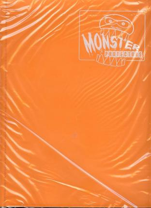 9 Pocket Monster Binder - Orange