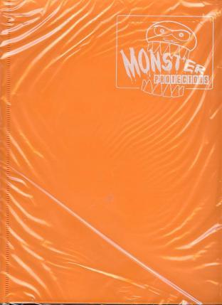 9 Pocket Monster Binder - Orange