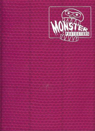9 Pocket Monster Binder - Pink