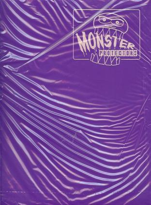 9 Pocket Monster Binder - Purple