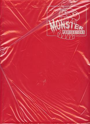 9 Pocket Monster Binder - Red