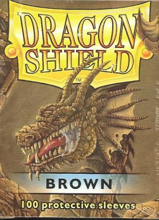 Dragon Shield Box of 100 in Brown
