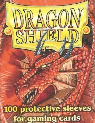 Dragon Shield Box of 100 in Red