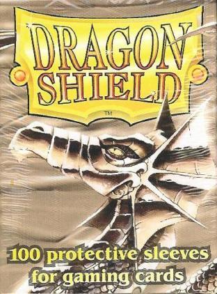 Dragon Shield Box of 100 in Silver