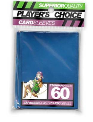 Player's Choice Standard Sleeves Pack of 60 in Metalic Blue