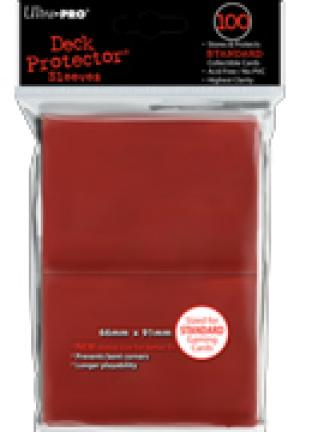 Ultra Pro - Red - Pack of 100 Standard Sized Sleeves