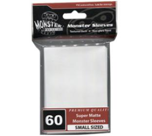 Monster Yugioh Sized Sleeves 60ct - Super Matte White