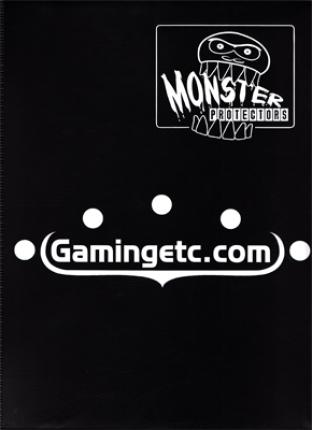 9 Pocket Monster Binder - Black with Gamingetc.com Logo