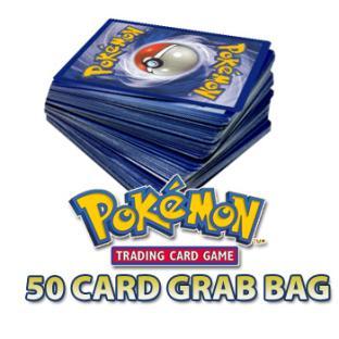 50 Random Pokemon Cards Grab Bag
