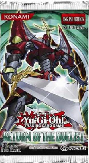 Return of the Duelist Booster Pack