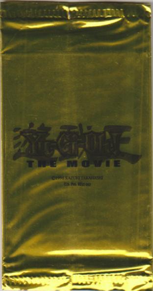 Yu-Gi-Oh The Movie Sealed Gold Promo Pack
