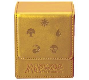 Magic Mana Flip Box - Gold - Ultra Pro