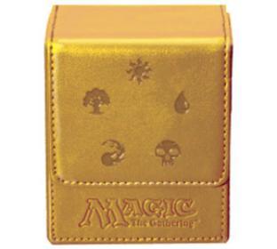Magic Mana Flip Box - Gold - Ultra Pro