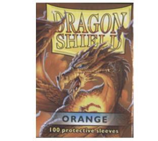 Dragon Shield Orange Standard Sized Sleeves 100
