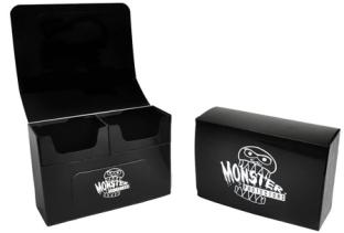 Monster Protectors Double Deck Box - Black