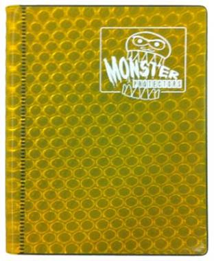 2-Pocket Monster Binder - Gold