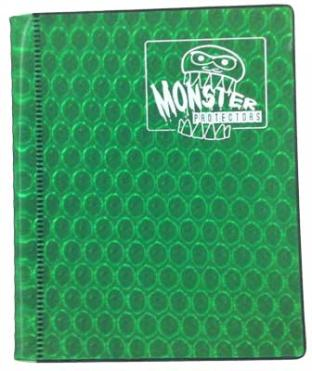 2-Pocket Monster Binder - Green