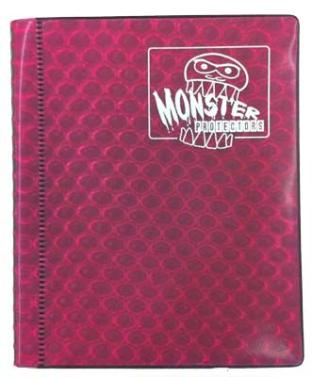 2-Pocket Monster Binder - Pink