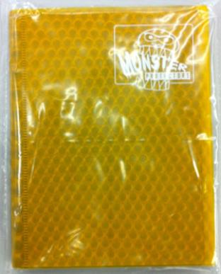4-Pocket Monster Binder - Gold