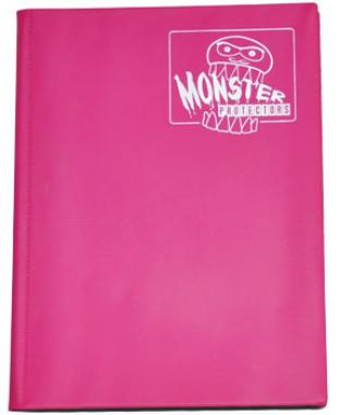 9 Pocket Monster Binder - Matte Pink