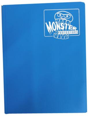 Monster Binder - Arctic Blue - 9 Pocket