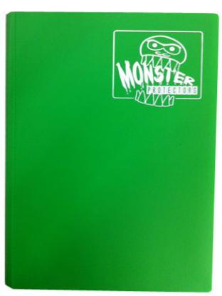 Monster Binder - Emerald Green - 9 Pocket