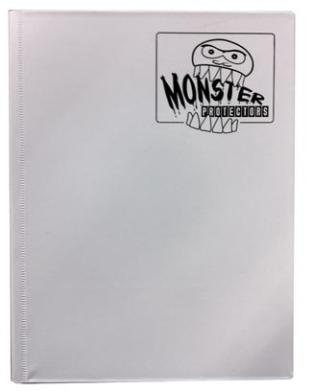 Monster Binder - Matte White - 9 Pocket
