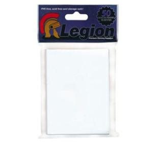 Legion Matte White Standard Sized Sleeves 50 ct