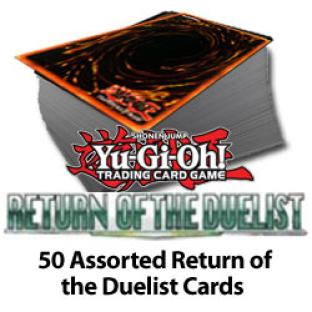 50 Assorted Return of the Duelist Cards