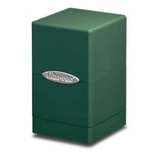 Ultra Pro - Satin Tower Deck Box Green