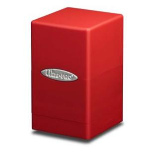 Ultra Pro - Satin Tower Deck Box Red