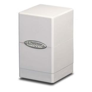 Ultra Pro - Satin Tower Deck Box White