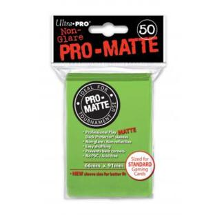 Ultra Pro - Pro Matte Card Sleeves - Lime Green (50 Count)