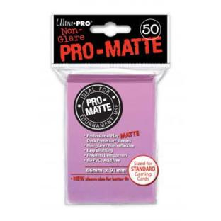 Ultra Pro - Pro Matte Card Sleeves - Pink (50 Count)