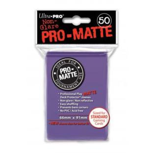Ultra Pro - Pro Matte Card Sleeves - Purple (50 Count)