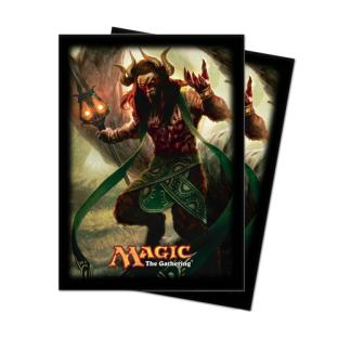 Theros Standard Card Sleeves (80ct) - Xenagos, the Reveler