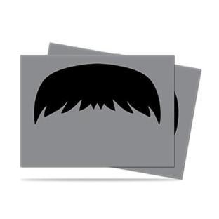 Ultra Pro - Grey Mustachio Standard Sized Sleeves 50ct